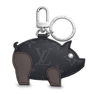 Louis Vuitton Limited Edition Pig Zodiac Key Chain